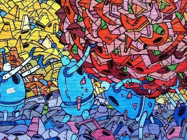 Berühmteste städtische Wandmalereien